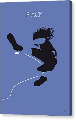 No008 My Pearl Jam Minimal Music Poster Canvas Print