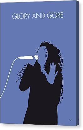 No028 My Lorde Minimal Music Poster Canvas Print