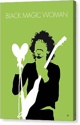 Thin Canvas Print - No046 My Santana Minimal Music Poster by Chungkong Art