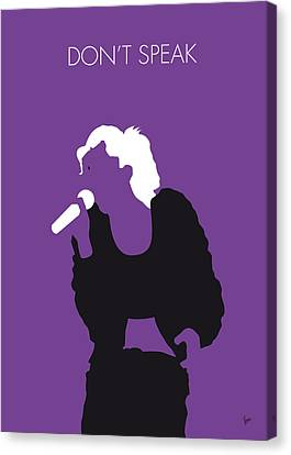 No051 My No Doubt Minimal Music Poster Canvas Print