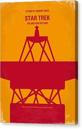 No081 My Star Trek 1 Minimal Movie Poster Canvas Print by Chungkong Art