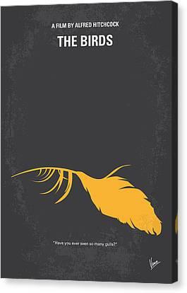 No110 My Birds Movie Poster Canvas Print by Chungkong Art