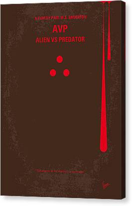 No148 My Avp Minimal Movie Poster Canvas Print by Chungkong Art