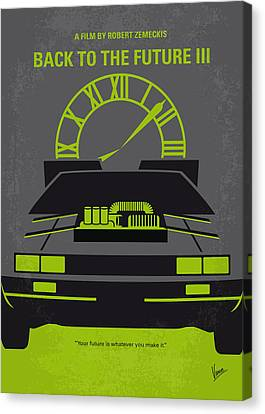 No183 My Back To The Future Minimal Movie Poster-part IIi Canvas Print by Chungkong Art