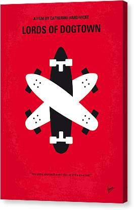 No188 My The Lords Of Dogtown Minimal Movie Poster Canvas Print by Chungkong Art