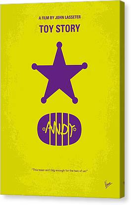 Woodies Canvas Print - No190 My Toy Story Minimal Movie Poster by Chungkong Art