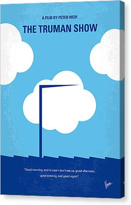 No234 My Truman Show Minimal Movie Poster Canvas Print by Chungkong Art