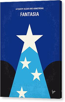 No242 My Fantasia Minimal Movie Poster Canvas Print