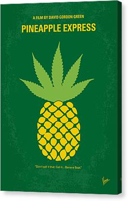 No264 My Pineapple Express Minimal Movie Poster Canvas Print