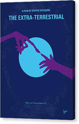No282 My Et Minimal Movie Poster Canvas Print by Chungkong Art