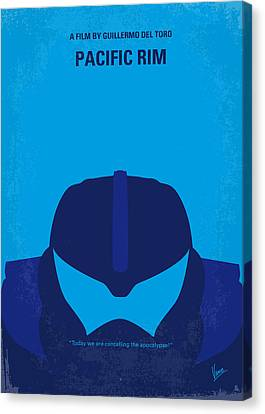 Style Canvas Print - No306 My Pacific Rim Minimal Movie Poster by Chungkong Art