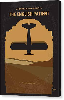 No361 My The English Patient Minimal Movie Poster Canvas Print by Chungkong Art