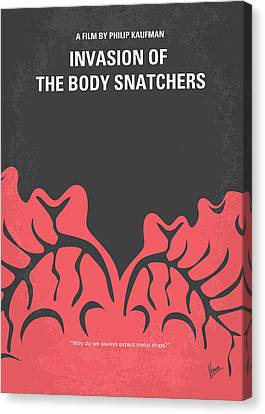 No374 My Invasion Of The Body Snatchers Minimal Movie Canvas Print by Chungkong Art