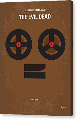 No380 My The Evil Dead Minimal Movie Poster Canvas Print by Chungkong Art