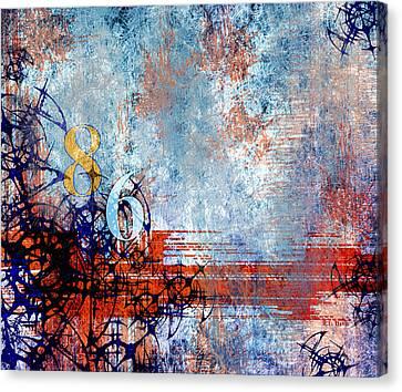 No.86 Canvas Print