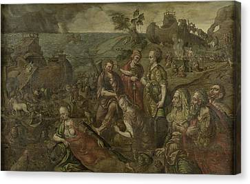 Noahs Ark, Anonymous Canvas Print by Litz Collection