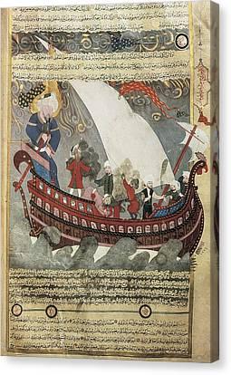Noahs Ark Around The Kabah Canvas Print by Everett