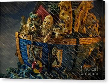 Noah's Ark Canvas Print by Donald Davis