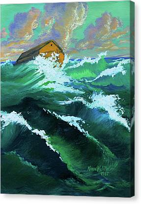 Noah's Ark Canvas Print by Karon Melillo DeVega