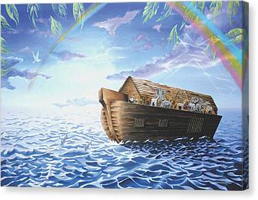 Noah's Ark Canvas Print by Maceo Rogers