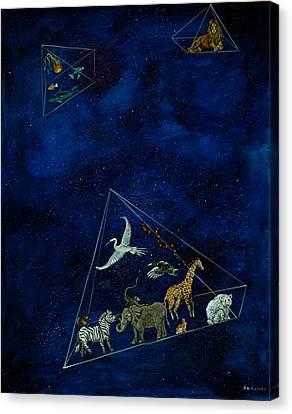 Noah's Last Voyage Canvas Print by Susan Culver