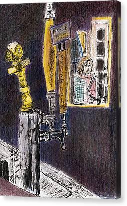 Noble Plus Canvas Print by William Killen