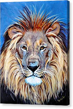 Noble Pride Canvas Print by Donna Proctor