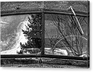 Nobody's Truck Windshield Canvas Print