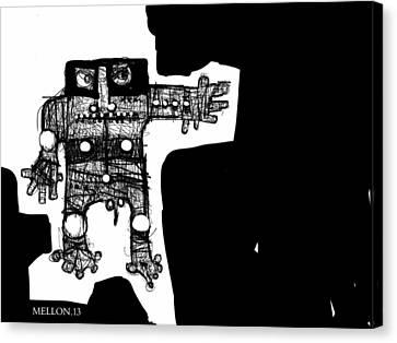 Noctis No. 1  Canvas Print by Mark M  Mellon