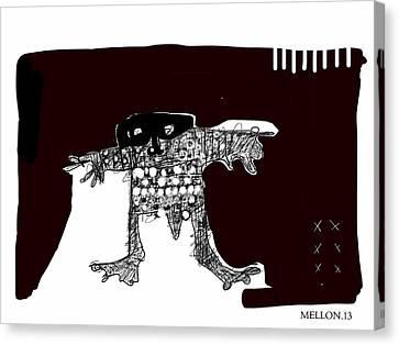 Noctis No. 2 Canvas Print by Mark M  Mellon