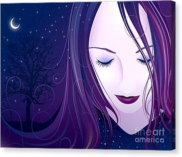 Nocturn Canvas Print by Sandra Hoefer