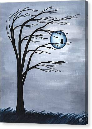 Nocturnal Canvas Print by Melissa Smith