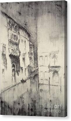 Nocturne Palaces Canvas Print