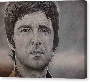 Noel Gallagher Canvas Print by David Dunne