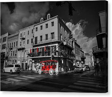Nola - French Quarter 003 Ck Canvas Print by Lance Vaughn