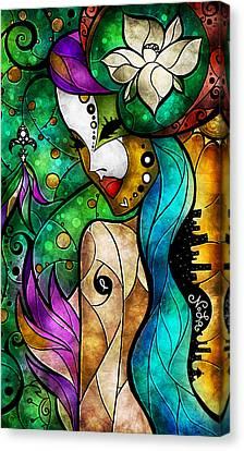 Nola Canvas Print by Mandie Manzano