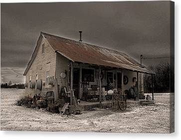 Noland Country Store Canvas Print by William Fields