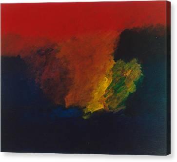 Nolde Homage 1985 Canvas Print