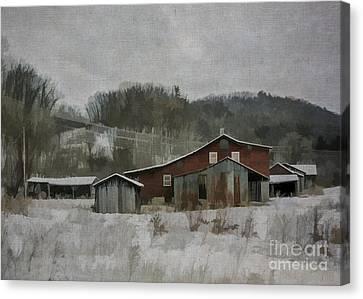 Nonna's Farm Canvas Print
