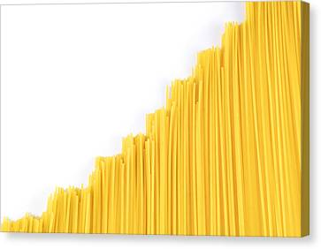 Noodles Canvas Print by Chevy Fleet