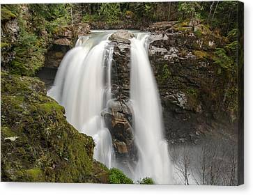 Nooksack Falls Canvas Print by Crystal Hoeveler