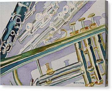 Noon Trio Canvas Print