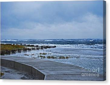 Nor Easter Canvas Print by Skip Willits