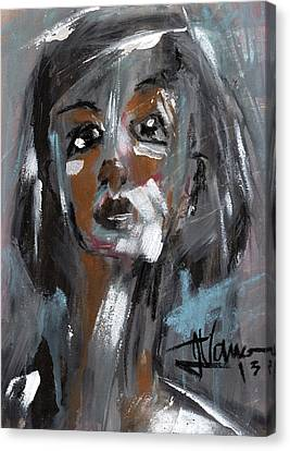 Nora Canvas Print by Jim Vance