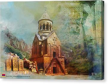 Noravank Church Canvas Print by Catf