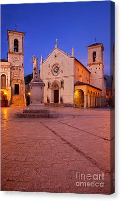 Norcia Umbria Canvas Print by Brian Jannsen