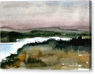 Nordic View Canvas Print