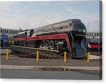 Norfolk And Western Class-j 611 Canvas Print