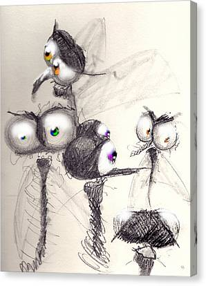 Normal People Canvas Print by Marcello Cicchini