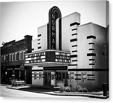 Normal Theater Canvas Print by Jeff Burton